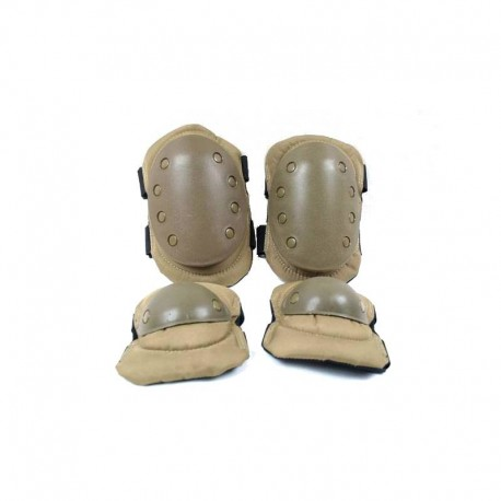 airsoft knee and elbow pads OD