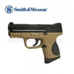 Smith & Wesson M&P 9C TAN Corps TAN Pistola 6MM Muelle