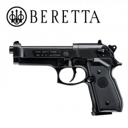 Beretta M92 FS Pistol Full Metal 4.5mm CO2 Black