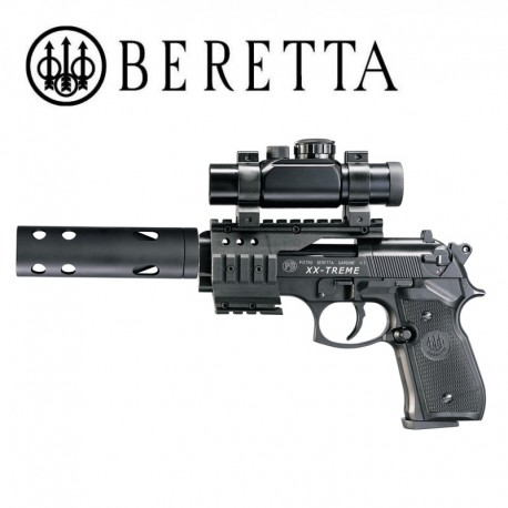 Beretta M92 FS XX-Treme Pistola 4.5mm Pellet CO2