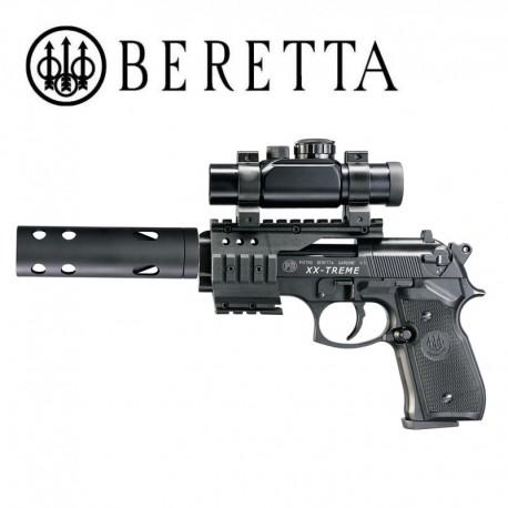Beretta M92 FS XX-Treme Pistola 4.5mm Pellet CO2