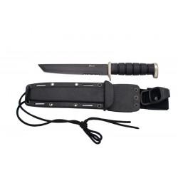 Cuchillo táctico negro 2