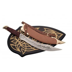 Cuchillo de Aragorn con vaina y soporte