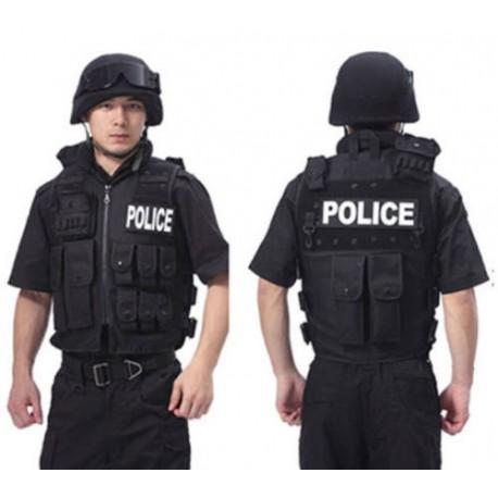 Colete tático da polícia