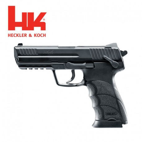 Heckler & Koch HK45 Pistolas 4.5mm CO2