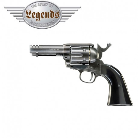 Legends Custom .45 Revólver Full Metal 6mm CO2