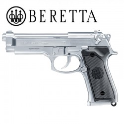 Beretta M92 FS INOX Pistol Full Metal Blowback Gas