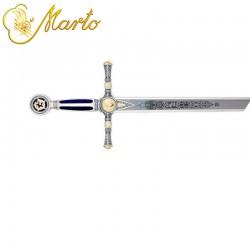 Espada Masónica Plata