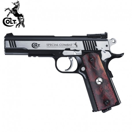 Pistola ESPECIAL COMBATE COLT 4.5MM CO2