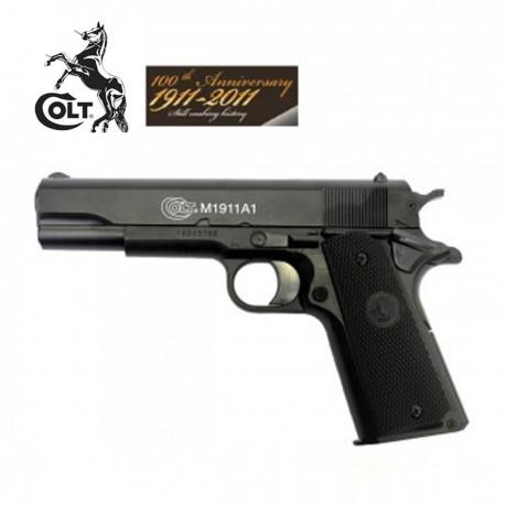 Colt 1911 Corrediça Metálica 100 aniversario (Funcionamento a mo