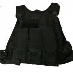 Assault Tactical Vest Black