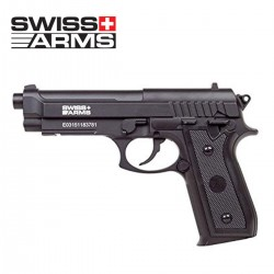 Swiss Arms PT92 (Beretta) Pistol 4.5MM CO2 Full Metal