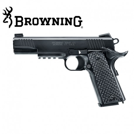 BROWNING 1911 Corredera metálica pistola 6mm muelle