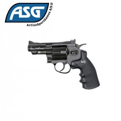 "Revolver ASG Dan Wesson 6MM 2.5"" CO2 Negro"