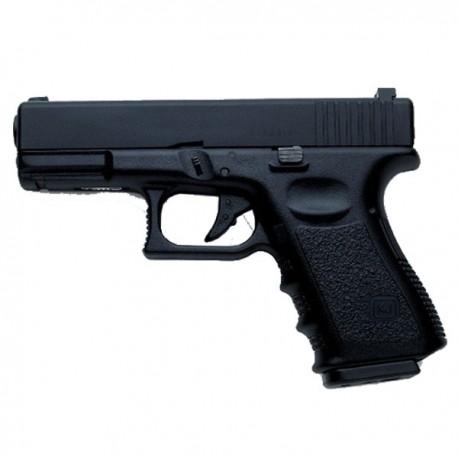 Pistola GLK 23 ( Tipo Glock ) Gas Metalica KP03 Negra