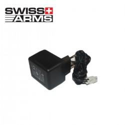 Cargador Batería 8.4 VDC 300mA Tipo mini Swiss Arms
