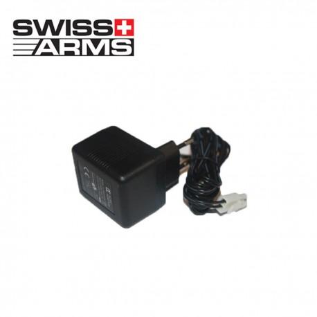 Cagador Batería 8.4 VDC 300mA Tipo mini Swiss Arms