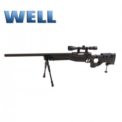 Sniper L96 AWP Well optica y bipode culata plegable