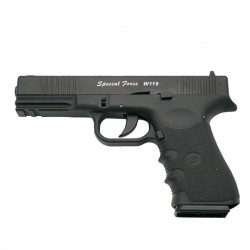 Força Especial (Tipo Glock 19) Correia de Metal de Co2 4.5mm Blowback