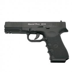 Força Especial (Tipo Glock 19) Correia de Metal de Co2 4.5mm Blowback