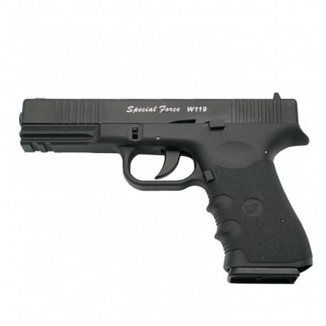 Special Force (Tipo Block 19) Correra Metálica Blowback Co2 4.5mm