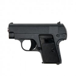 Pistola Ghost tipo Colt 25, aleación Zinc Muelle