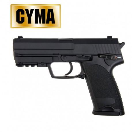 Pistola Airsoft 6MM Eléctrica CM.125