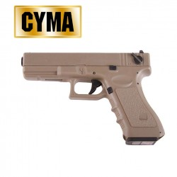 CYMA CM030 TAN Tipo G18C TAN Pistola Electrica 6MM