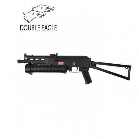 Golden Eagle M4 Fsp 15 Rail System Carbine Airsoft Aeg Black