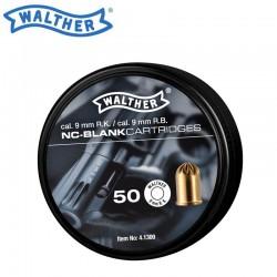 Munição detonadora Walther cal. 9 mm R.K. - 50 tiros