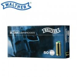 Munição detonadora Walther cal. 9 mm P.A.K. - 50 tiros