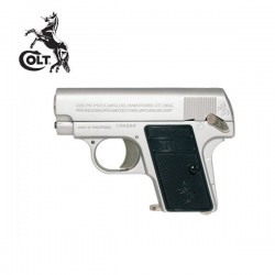 Colt Pistola 25 Mini Plata