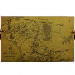 LOTR: Mapa de la Tierra Media