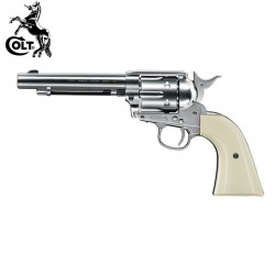 "Colt SAA .45-5.5"" 4.5MM Co2 BBs acero"