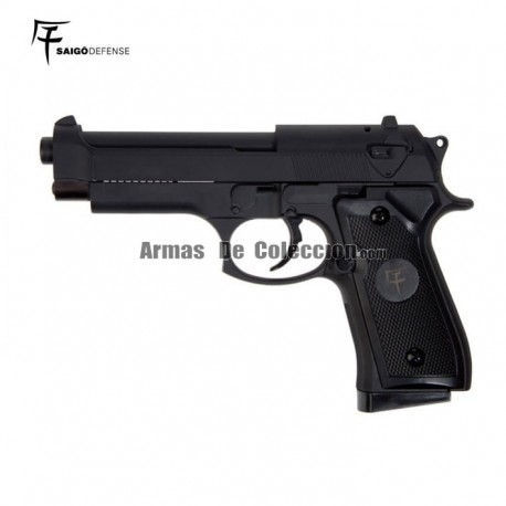 Saigo 92 ( Tipo Beretta 92 ) Pistola 6mm Muelle