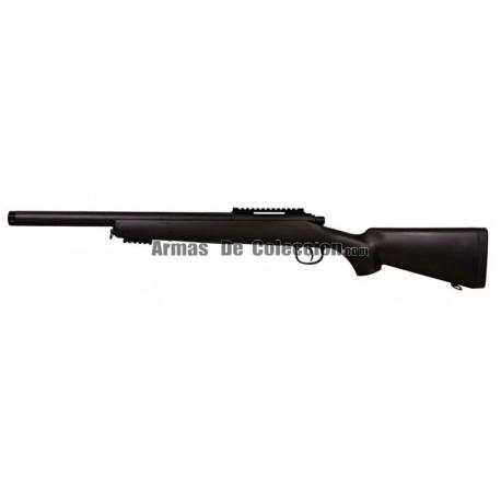 Sniper Bull Barrel M52 (SAR 10) Con Optica y Gafas de Portección