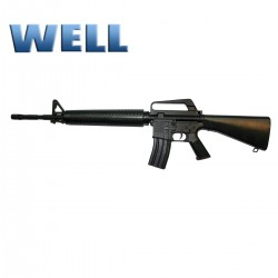 WELL Rifle Muelle M16A1 SUPER 300 FPS!!!