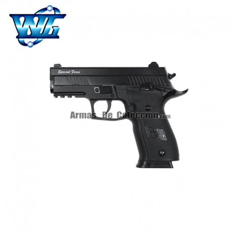 Special Force 229s tipo Sig Sauer 229 Pistola Full Metal Blow Back 4,5MM CO2