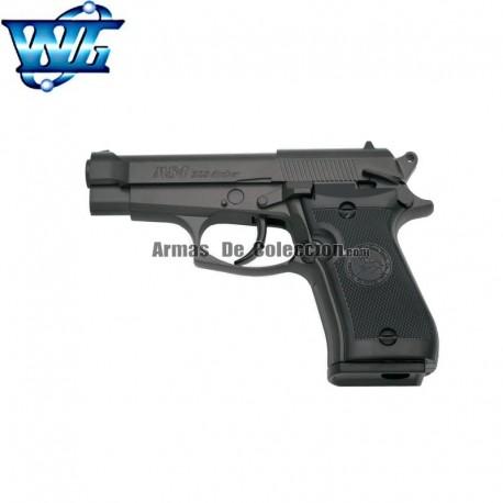 WG M84 NEGRA Tipo Beretta 84FS Cheetah - FULL METAL - PISTOLA 6 mm. - Co2