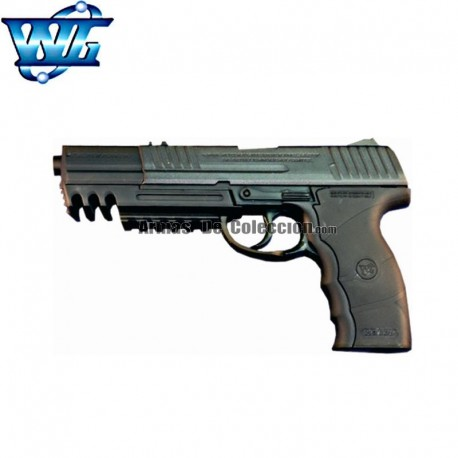 WG Long Barrel tipo Sig Sauer W3000- Pistola - Full Metal- 4.5mm - CO2