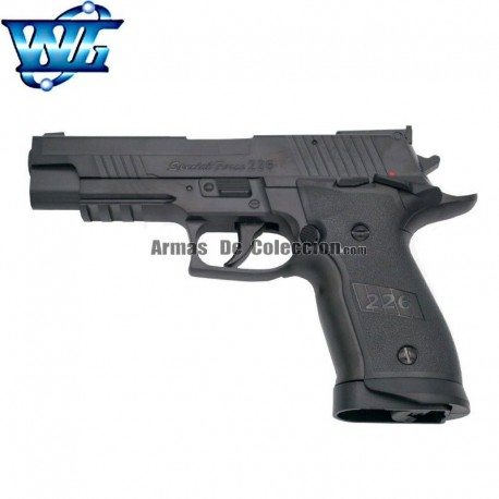 Special Force 226 tipo Sig Sauer P226 Pistola 4,5MM CO2