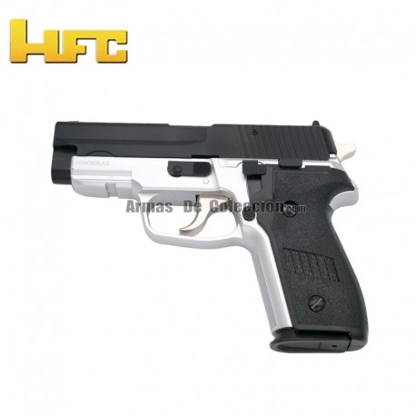 HFC P99 Bicolor - Pistola Muelle Pesada - 6 mm.