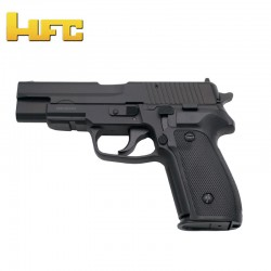 HFC Type Sig Sauer P226 Black - Heavy Spring Gun - 6 mm.