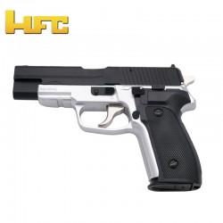 HFC Type Sig Sauer P226 Bicolor - Heavy Spring Gun - 6 mm.