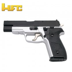 HFC Tipo Sig Sauer Bicolor - Pistola Muelle Pesada - 6 mm.