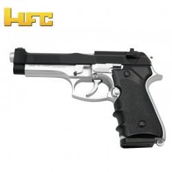 HFC tipo Beretta 92FS BICOLOR - Pistola de mola pesada - 6 mm.