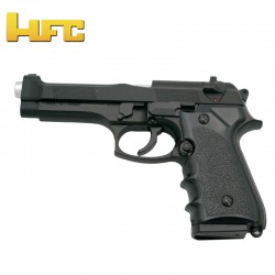 HFC Type Beretta 92FS Black - Heavy Spring Gun - 6 mm.