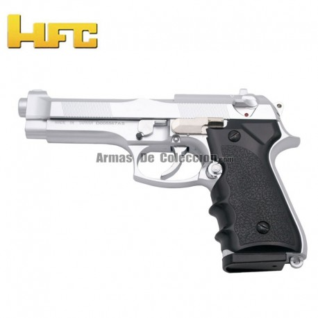 HFC Tipo Beretta 92FS Negra - Pistola Muelle Pesada - 6 mm.
