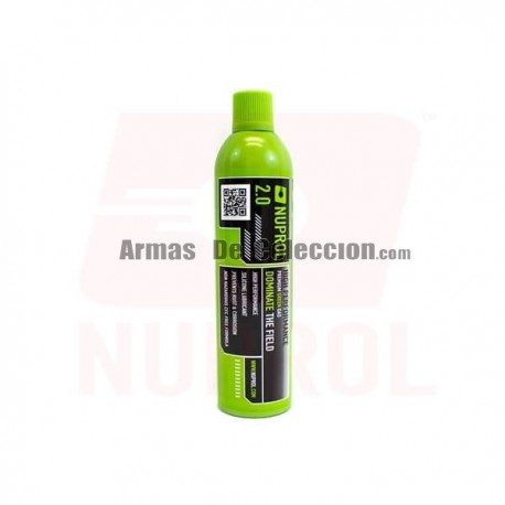 GAS VERDE NUPROL 2.0 1000ML 300G