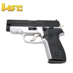 HFC Tipo Sig Sauer P228 BICOLOR - Pistola Muelle Pesada - 6 mm.